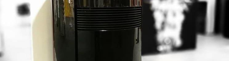 Dielle round glass ronde pelletkachel